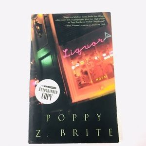 "SIGNED Poppy Z. Brite ""Liquor"""